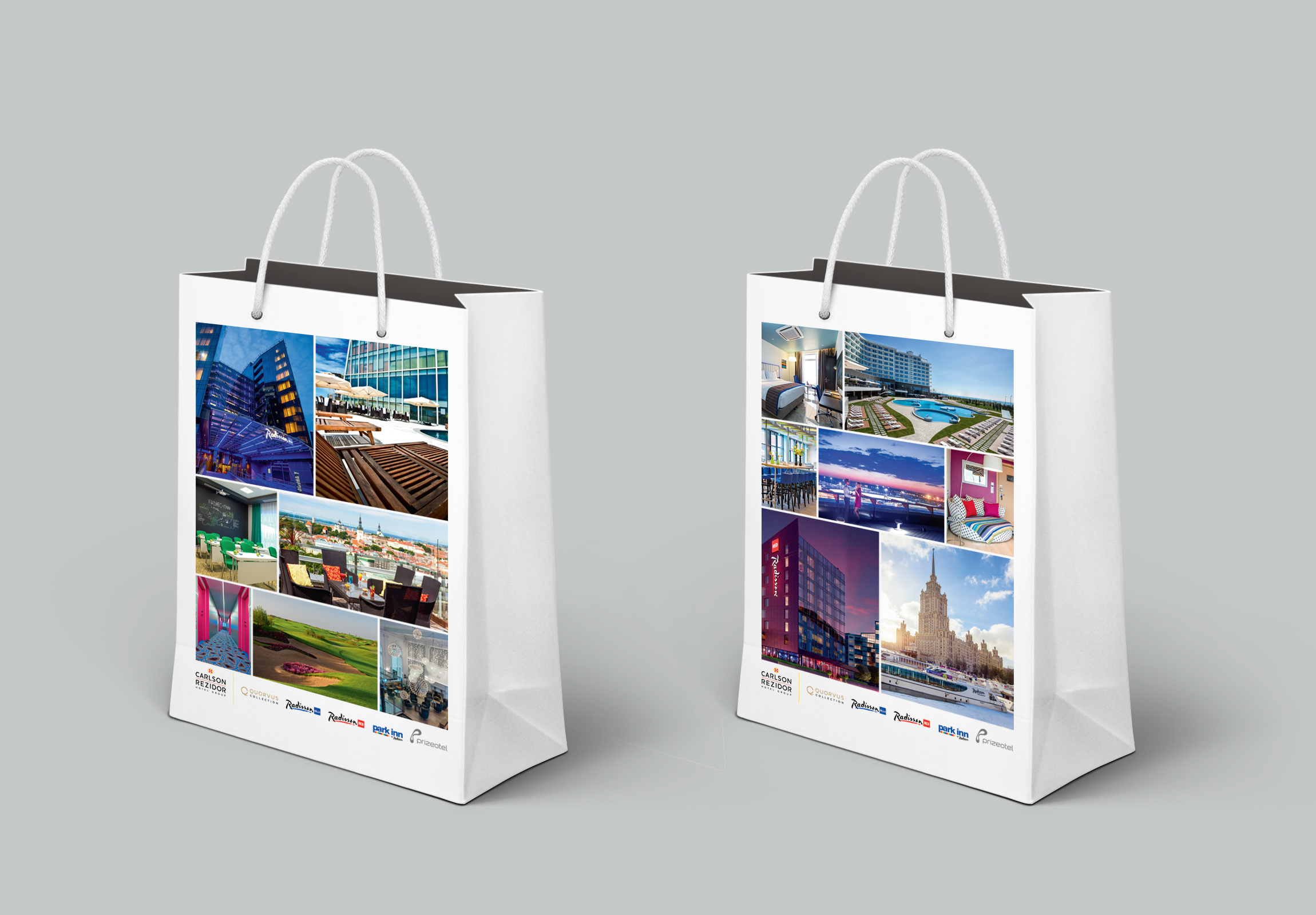Bag design for Rezidor